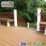 Suelo al aire libre impermeable del Decking del balcón WPC