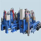 LPGシリンダータンクトリミング及び磨く機械