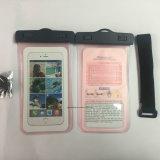 Bolsa impermeable promocional barata protectora del teléfono celular del agua al aire libre (JP-WB004)