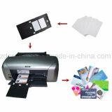 Карточки удостоверения личности PVC пустого Inkjet пластмассы Cr80 изготавливания Printable