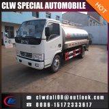 ステンレス鋼タンクトラックの新しいミルクのタンク車4*2のミルクのトラック