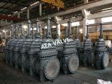 API 6D 150фунтов Литые стальные газовые плоские запорный клапан