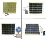 chargeur époxy du panneau solaire 5W avec la diode de clips de batterie