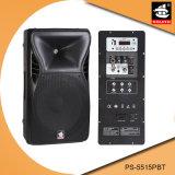 15 Zoll PRO60w Digital Ampere aktiver Plastiklautsprecher PS-5515PBT USB-Ableiter-FM Bluetooth