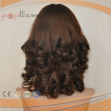 Peruca Curly do cabelo humano (PPG-l-0295)