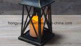 屋外の装飾的なハリケーンの金属の庭の蝋燭のランタン