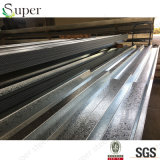 鋼鉄金属によって電流を通される波形の床のDeckingシート