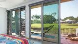 Раздвижная дверь двойной застеклять двери обеспеченностью алюминиевая (YS-143)
