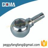 Ajustage de précision de pipe hydraulique de banjo de Bsp de boyau de banjo de 72011 Bsp