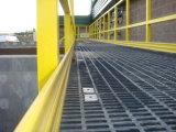 Tampa do Grating/plataforma moldadas FRP de grande resistência da passagem