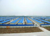 Casa de acampamento clara Eco-Friendly da construção de aço de Prebuilt