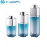 botellas privadas de aire de aluminio de la plata de la crema corporal 50g
