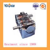 Eje helicoidal doble cilíndrico de la rueda de engranaje usado en industria del cemento