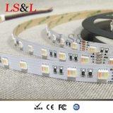 Couleur de Rgbdw 5 changeant la corde de projecteur de DEL pour la décoration