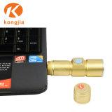 3 Flitslicht van het Gezoem van de Toorts USB Rehcrageable CREE van de Fiets van Outsdoor van de wijze het Berijdende 3W