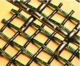 Высокая растяжимая сетка волнистой проволки нержавеющей стали для сетки экрана сетки минирование