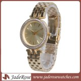 Het Horloge van vrouwen, de Horloges van het Kwarts van de Luxe, Roestvrij staal Waterdichte Dame Watch