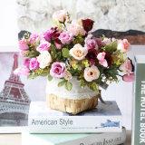 Barato arranjos de flores de seda artificial por grosso