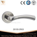 Le Zinc Chrome la poignée de loquet de verrouillage de porte d'entrée de matériel (Z6105-ZR03)