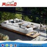 Europäisches modernes einfaches Gewebe-Sofa und im Freienmöbel-Garten-Sofa