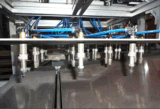 La consommation inférieure d'air BOPS cadre de conteneur de cuvette formant la machine