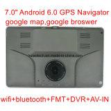 """새로운 7.0 """" 차 GPS Navation, 인조 인간 OS 의 가득 차있는 HD1080p 차 DVR를 가진 차 정제 PC, 차 주차 사진기AV 에서, 차 비행 기록 장치; 붙박이 G 센서, 사전 로드된 APP& 지도"""