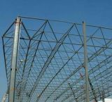 Estructura de la red para el palmo grande y la estructura de acero constructiva del acero