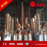 100 galloni del vapore di distilleria rivestita della vodka, attrezzature multifunzionali di distillazione per produrre whisky, rum, brandy, gin e vodka