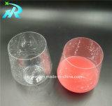 12oz Tritan verres à vin à motifs en polycarbonate