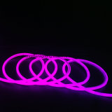 IP 65 크리스마스 네온 등 두 배 측 밝은 자주색 세륨 네온 등 220V 8*16mm