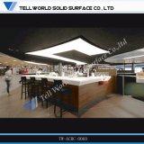 Tw 대중음식점 카운터를 위한 아크릴 주스 바 카운터