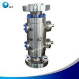 Partie intégrante du corps haute pression en acier double bloc et les vannes de purge