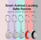 Bluetoothの追跡者の子供袋の札入れのキーのファインダーGPSのロケータアラームSelfieの携帯用小型反失われたスマートなリモート