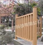 Hölzerner zusammengesetzter zusammengesetzter Zaun-Pfosten des Zaun-200*200mm aufbereiteter PlastikWPC