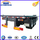 La superficie plana Tri-Axle semi remolque / 40ft Container Trailer de venta