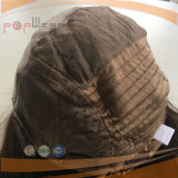 Parrucca medica superiore di seta dei capelli umani (PPG-l-0652)