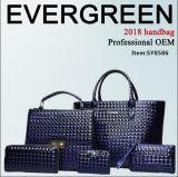 Новая сумка самые лучшие продавая 6 PCS конструктора 2017 в 1 установленном повелительнице Сумке Устанавливать PU высокого качества сумки женщин мешков с оптовой ценой Sy8568