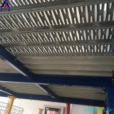 Sistema de acero de varias filas del tormento del suelo de entresuelo de la plataforma del almacén