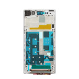 LCD Frame Blanco voor Sony Xperia Z1 Compacte D5503 Marco Frontale Cubierta