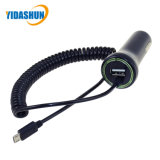 Micro USB Extension Cable를 가진 24W 5V4.8A USB Car Charger