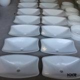 Итальянская каменная мраморный раковина ванны камня ванной комнаты с мебелью (B170904)