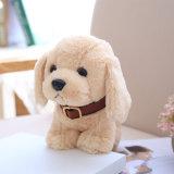 柔らかく柔らかいぬいぐるみ犬の子犬のカスタムプラシ天のセリウムのおもちゃ