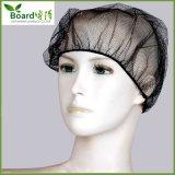 Rete di capelli di nylon con colore nero. Protezione di nylon della rete di capelli