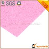 Color de rosa de lujo no tejido del documento de embalaje de regalo de la flor No. 25