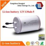 batterie rechargeable de Li-ion solaire de lithium de 12V 130ah avec le PCM