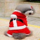 Vêtements bon marché de Noël de crabot d'animal familier de cadeau en gros de Noël
