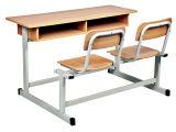 Для классных комнат дизайн двойной письменный стол и стул (SF-03D)