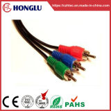3RCA to 3RCA Lotus Connector Cables 2r/3r (SY- 3R)