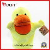 Bébé jouets éducatifs poupées de la main d'animaux en peluche de porc de marionnettes à main