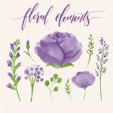 Schilderen van de Druk van het Canvas van de schoonheid het Bloemen Met de hand gemaakte voor het Art. van het Huis